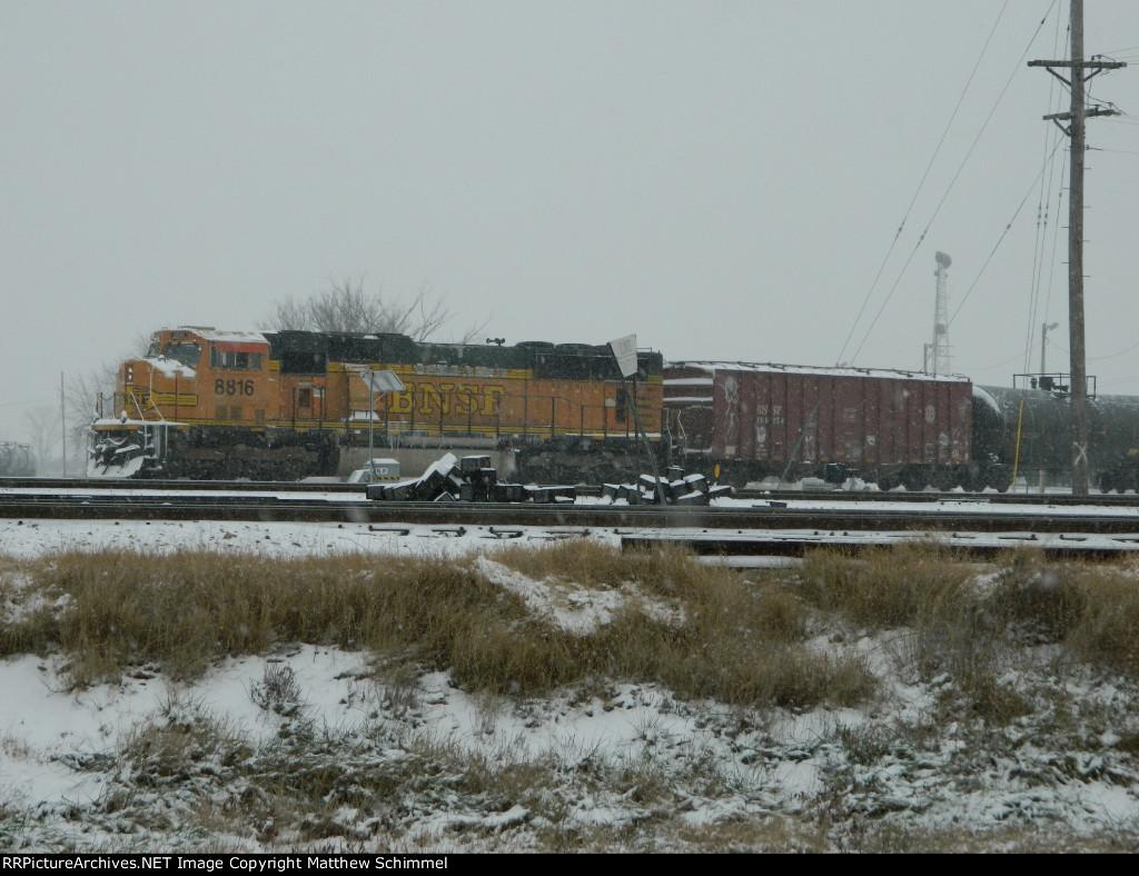 BNSF 8816 - DPU