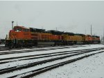 BNSF 9259 In The Snow