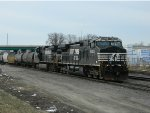 NS Freight Headed For Decatur, Illinois