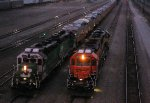 BNSF 2766 with 10 CREX GE's