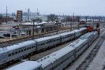 Two BNSF O-trains