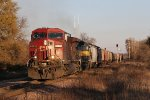 XB69 gets underway from Davis Junction, bound for Byron to spot a potash train