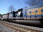 CSX 4764 north bound at downtown Marietta