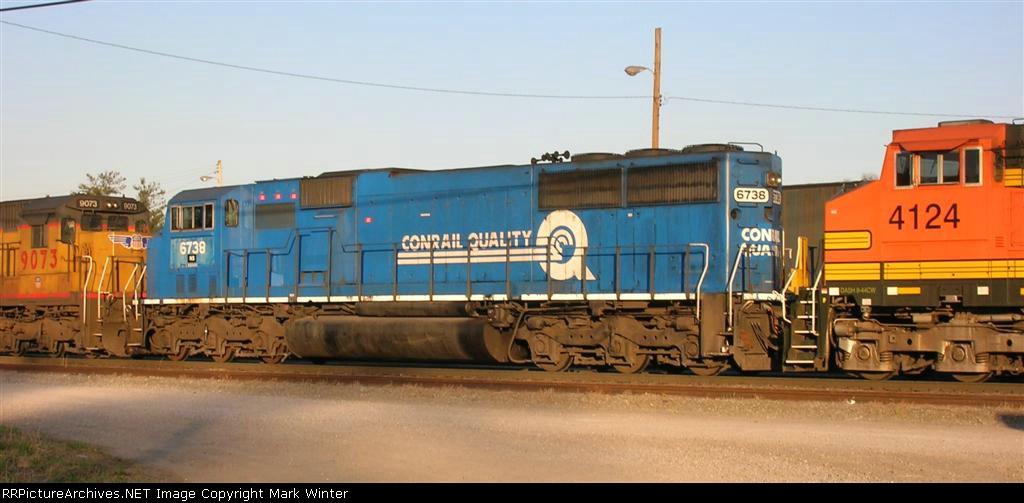 "NS 6738 ""Conrail Quality"""