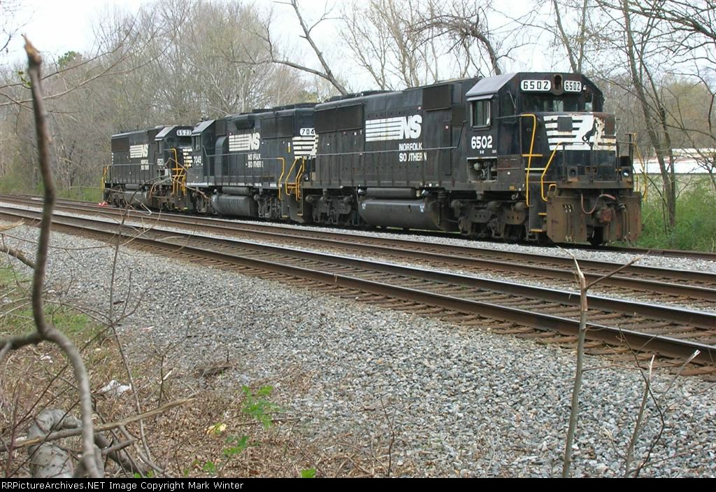 Is NS 6502 headed for recycling? Sitting