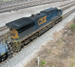 CSX 5109, leading NB,