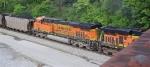 BNSF 6251, 2nd unit in unit coal train