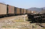 BNSF 5891 is leading its unit coal train over the Tennessee River