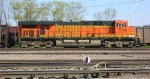 BNSF 5730, at the tail end of coal train led by BNSF 5606 and 5731,