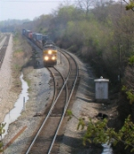 UP 5407 has just gotten clearance for the single CSX mainline