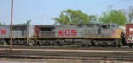 KCS 4592 behind sister TFM 1655 entering the yard