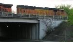BNSF 8805 at Main Street