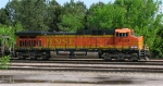 BNSF 5630 at end of RWSX loaded coal train