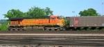BNSF 5724 at end of empty RWSX unit coal train