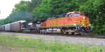 NB BNSF 4789 and NS 8963 leading out of Chattanooga,