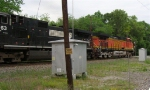BNSF 4789 at Old Hixson Pike,