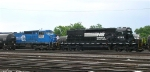 NS 6095, in front of NS 8417, in the yard
