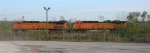 BNSF 5651 and BNSF 5649 at Shipps yard