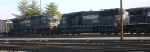 NS 6608 and NS 9204, trailing units in SMEX coal train,