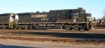 NS 8851 sitting in the yard, 