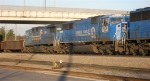 NS 6724 and NS 8205, ex Conrail,