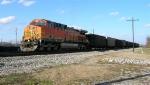BNSF 5674 bringing up the rear,