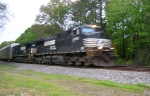 NS 9550 and NS 9126 NB at Old Hixson Pike,
