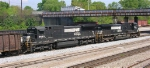 NS 9330 and NS 8680 NB out of yard headed for the mainline,
