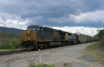 CSX 5211 and CSX 8602 leading autorack train, near CSX Wahatchie Yard,