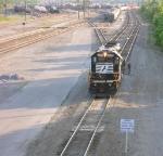 NS 6095, at north end of yard,