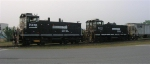 NS 2336 and NS 2433 working Riverport,