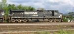 NS 8976 in yard