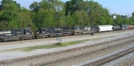 NS 8741 and sisters headed for the yard,