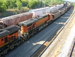 BNSF 5729 as 2nd unit in loaded unit coal train