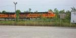 BNSF 6169 as 2nd unit of loaded unit coal train