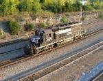 NS 6135 headed down mainline