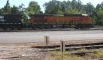 BNSF 4936 on yard track