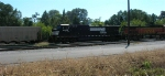 NS 9245 on yard track