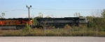 BNSF 9561 on mainline at Shipps Yard