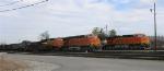 BNSF 6119, BNSF 5912, with NS yard engine