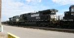 NS 9702 headed for maintenance shop