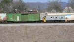 CSX caboose 904106 at end of MOW train