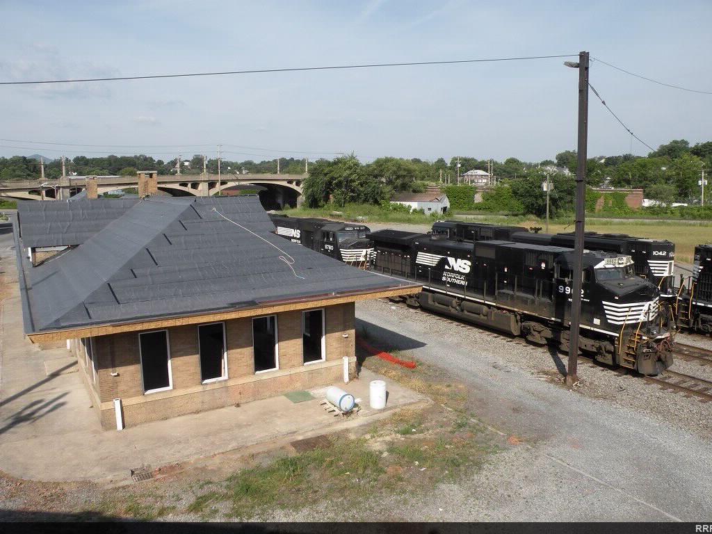 Power sitting  by the old Virginian depot in Roanoke.