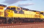 Clean CNW 8687 on coal train