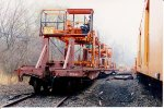 Track laying machine