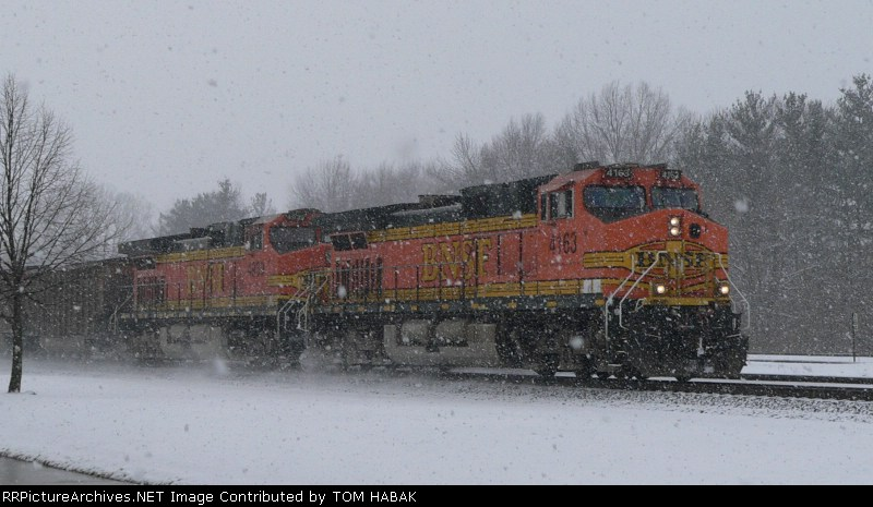 BNSF 4163