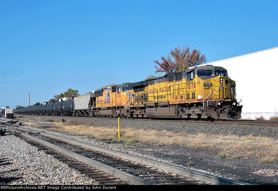 UP 7078 on K-694