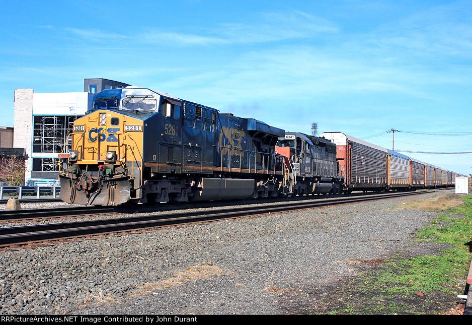 CSX 5281 on Q-254