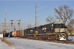 NS 7528 On NS 175 Southbound