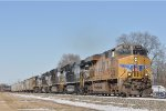 UP 7819 On NS 123 Eastbound